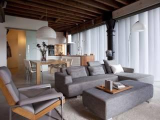 Lloydstraat 140, Rotterdam Scandinavische woonkamers van Thijssen Verheijden Architecture & Management Scandinavisch