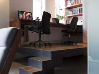 Ruang Studi/Kantor Gaya Skandinavia Oleh Thijssen Verheijden Architecture & Management Skandinavia