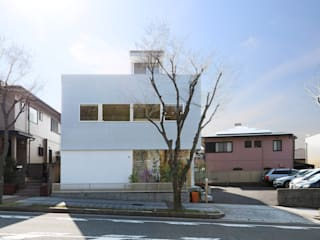 ディライトワークス 新築工事 の Echizen Ryouta Design Laboratory モダン
