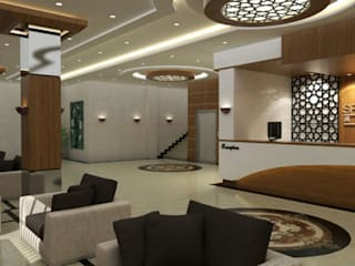 Corridor & hallway by Grand Office , Modern
