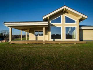 THULE Blockhaus GmbH - Ihr Fertigbausatz für ein Holzhaus Kabin Kayu