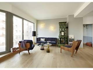 Wohnungsprojekt | Kater Holzig Moderne Wohnzimmer von Hotel ULTRA Concept Store Modern