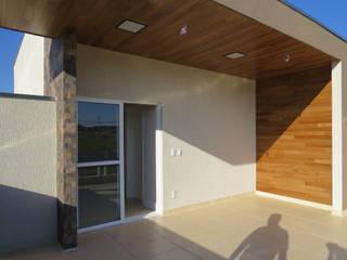 Rodapé.com Single family home Wood