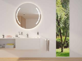 Runder Spiegel MARS: modern  von spiegelshop24,Modern