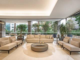 Áreas Condominiais do Empreendimento Apoggée - Luxury Residential Condo por BG arquitetura | Projetos Comerciais Moderno