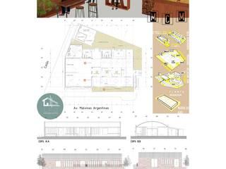 Propuesta MCM Museo Cultural Mendiolaza:  de estilo  por LPO DIBUJANTES