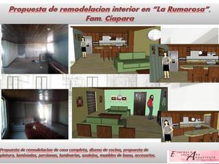 REMODELACION CASAS MEXICALI Casas modernas de Arquitectura, Diseño y Construcción Moderno