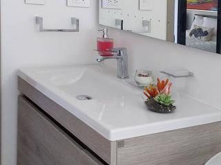Reforma de baños: Baños de estilo  por Remodelar Proyectos Integrales