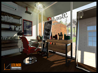 Barbershop:  Ruang Kerja by CV Leilinor Architect