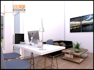 Home Office:  Ruang Kerja by CV Leilinor Architect