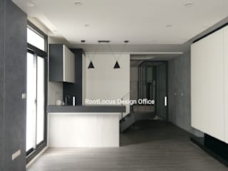 Salas de estar minimalistas por 築本國際設計有限公司 Minimalista