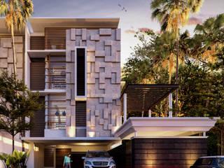 Altitude Sequence:  Villa by AIGI Architect + Associates