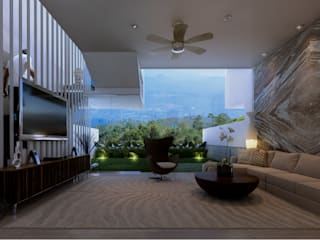 Altitude Sequence:  Ruang Keluarga by AIGI Architect + Associates