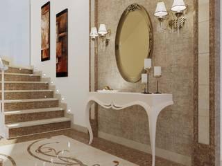 ANTE MİMARLIK Vestíbulos, pasillos y escalerasAccesorios y decoración Beige