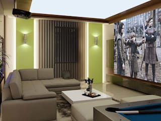 ANTE MİMARLIK Salones de estilo moderno Verde