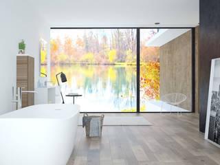 Badspiegel Adria Moderne Geschäftsräume & Stores von spiegelshop24 Modern