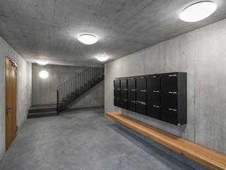 Hagmannareal Residential Building: Casas  por Natalia Bencheci,Moderno