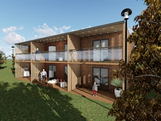 Discovercasa | Casas de Madeira & Modulares Fertighaus Holz Holznachbildung