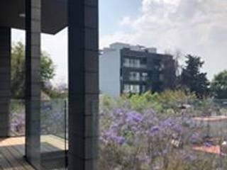 Vista terraza: Terrazas de estilo  por NEU ARQUITECTURA