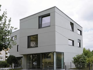 boehning_zalenga koopX architekten in Berlin 房子 石器 Grey