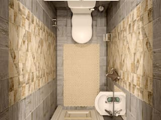 Klassische Badezimmer von Студия интерьерного дизайна happy.design Klassisch
