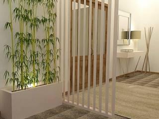Corridor & hallway by Casactiva Interiores