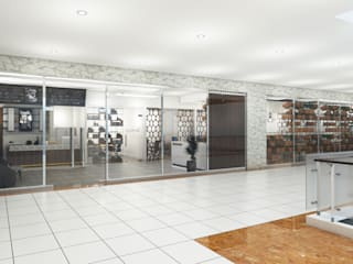 Share Office Brico Desain Konstruksi Arsitektur Bangunan Kantor Modern