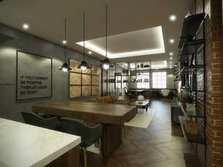 Kelvins Office Desain Konstruksi Arsitektur Ruang Studi/Kantor Modern
