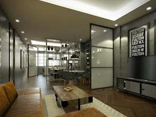 Kelvins Office Desain Konstruksi Arsitektur Ruang Keluarga Modern