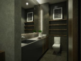 Kelvins Office Desain Konstruksi Arsitektur Kamar Mandi Modern