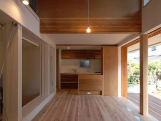 ツツムイエ (音楽室のある家2) オリジナルデザインの ダイニング の FORMA建築研究室 オリジナル