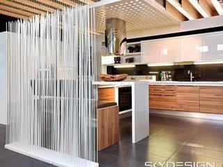 Sichtschutz für die Küche:   von www.skydesign.news - Raumteiler aus Berlin