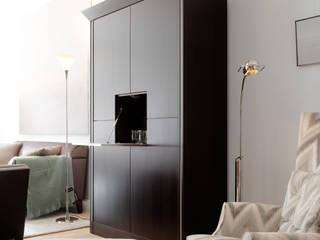 сучасний  by M-Moebeldesign - Interior by BOCK , Сучасний Текстильна Янтарний / Золотий