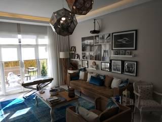 db interiors / db icmimarlık  – Park Mozaik Evleri -Yasamkent: modern tarz , Modern