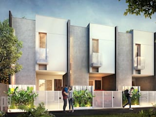 R Micro Housing:  oleh Simple Projects Architecture,
