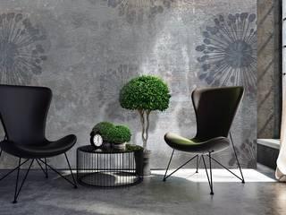 PIXIE progetti e prodotti Paredes y pisosPapeles pintados