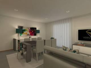 FS Salas de jantar modernas por Versatilis Inovação Design Moderno