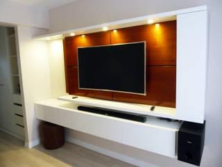 Mueble tv:  de estilo  por DIS.OLIVER QUIJANO
