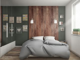 Minimalist bedroom by hexaform Minimalist