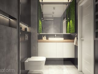 Minimalist style bathroom by hexaform Minimalist