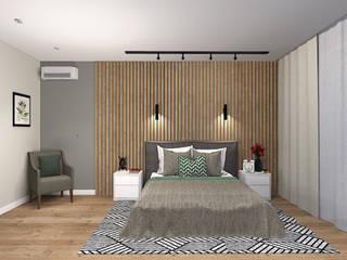 Дизайн интерьера таунхауса.: Спальни в . Автор – Екатерина Александрова