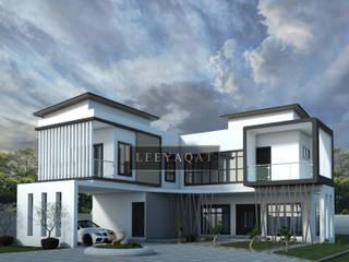 Exterior:  Rumah tinggal  by PT. Leeyaqat Karya Pratama