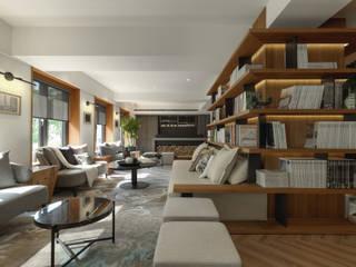 Espaces commerciaux de style  par 雅群空間設計, Moderne
