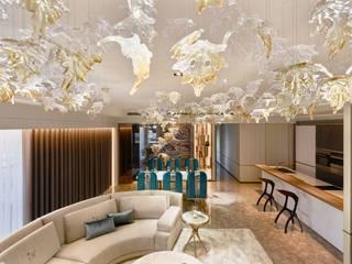 Ruang Keluarga oleh 雅群空間設計