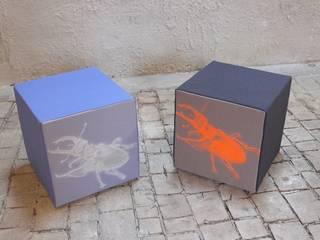 Sitzwürfel:   von Textile Objekte