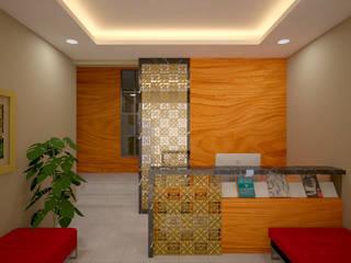 Modern Çalışma Odası Vaastu Arsitektur Studio Modern
