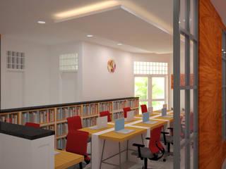 Modern study/office by Vaastu Arsitektur Studio Modern