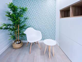 Local para Oficina Oficinas y tiendas de estilo moderno de Arantxa Muru Decoradora Moderno