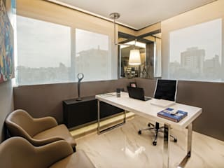 Decoração e Interiores | Consultório Médico de Dermatologia Escritórios modernos por BG arquitetura | Projetos Comerciais Moderno