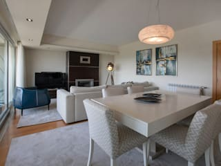 Sala de estar | Sala de Jantar: Salas de jantar  por EMME Atelier de Interiores